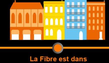 Raccordement de votre foyer la fibre optique ville de for Raccordement a la fibre