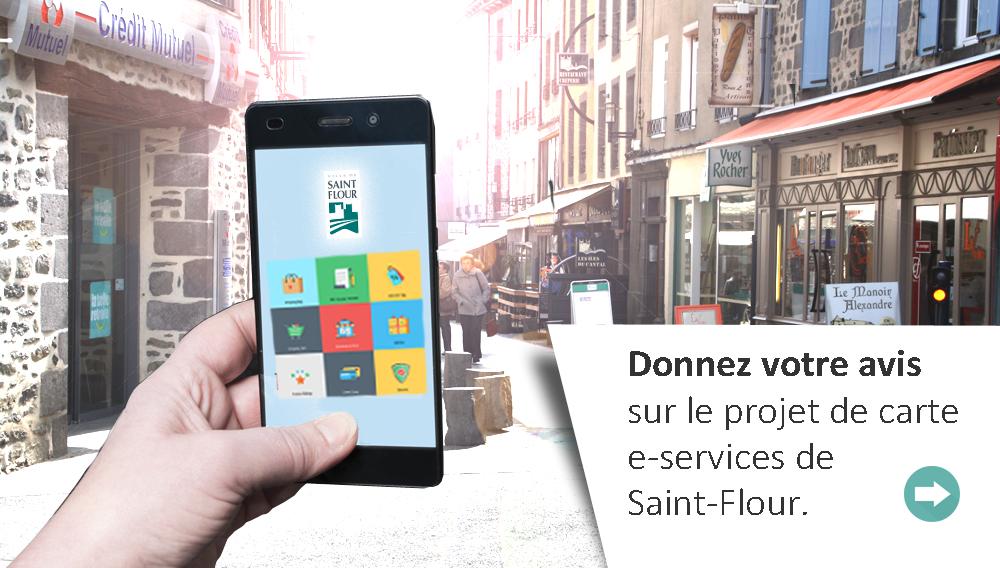 Projet de carte E-services à Saint-Flour