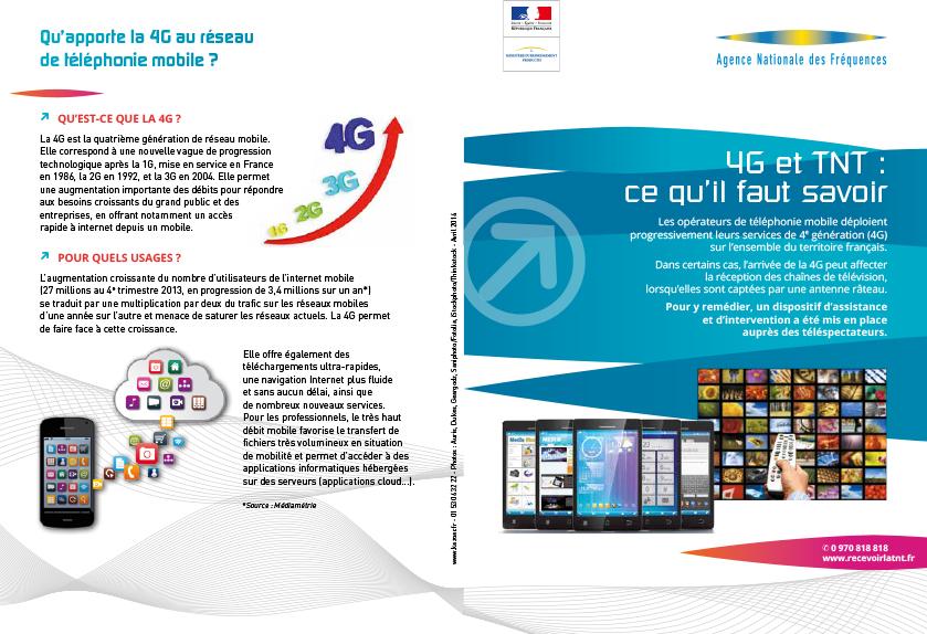 Brochure 4G et TNT perturbations