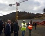 Visite chantier de la nouvelle station d'épuration de Saint-Flour - 14 novembre 2018